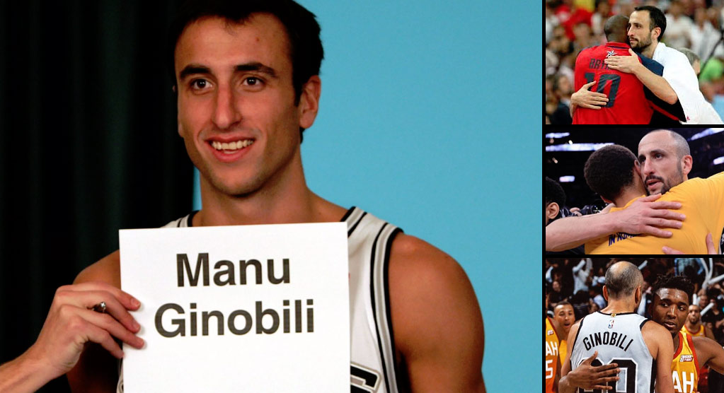 NBA Players React To Manu Ginobili's Retirement