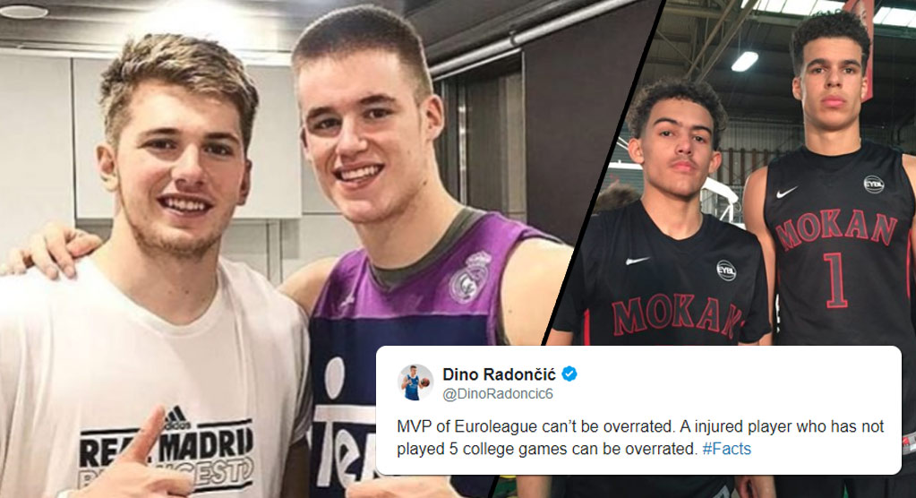 "The Luka Doncic vs Michael Porter Jr is Overrated Social Media ""Feud"""