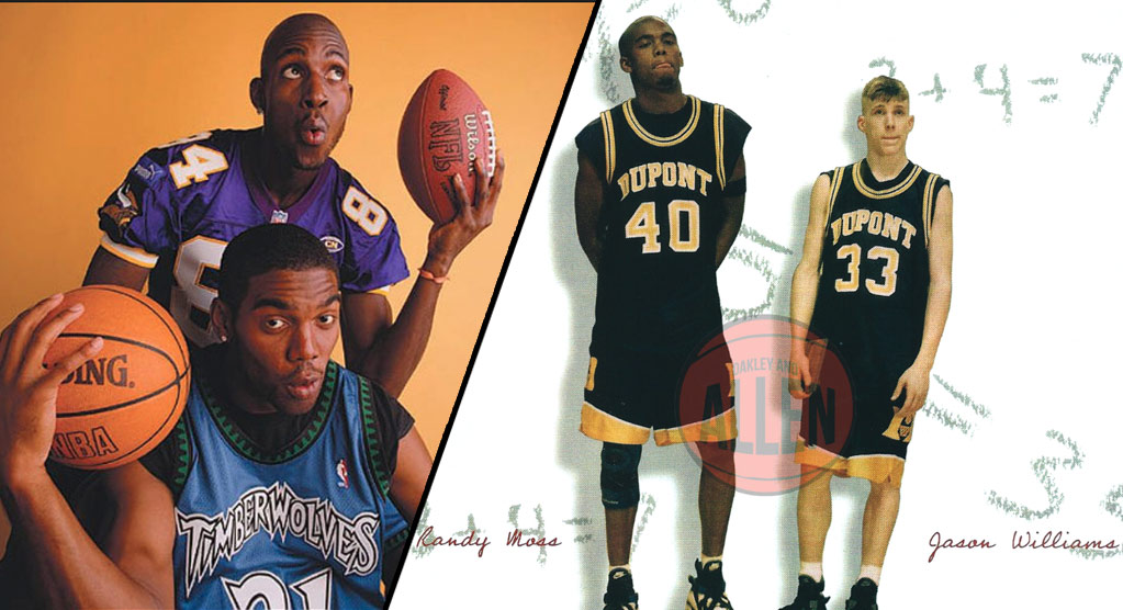 Remembering Randy Moss The Basketball Player