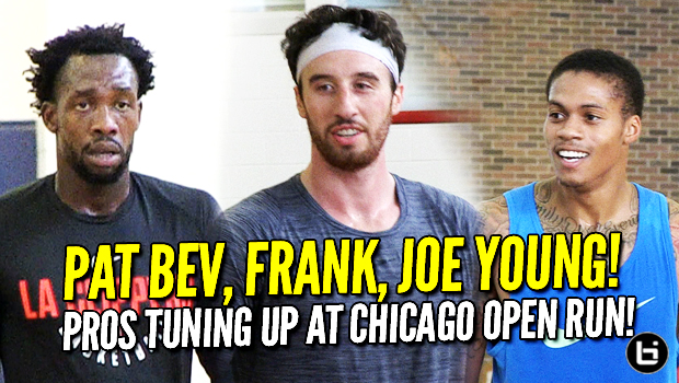 Patrick Beverley, Frank Kaminsky, Joe Young at Chicago Open Run! Full Highlights!