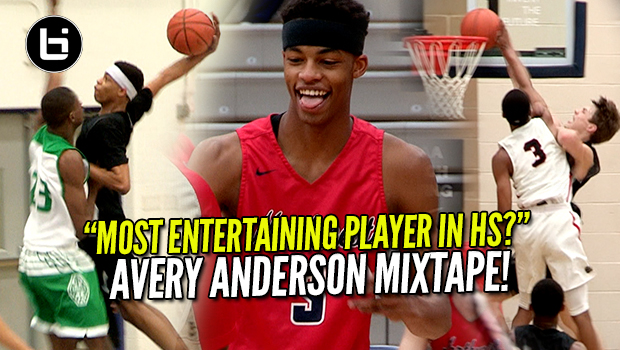 The Most Exciting Player in HS? Avery Anderson Ballislife Mixtape