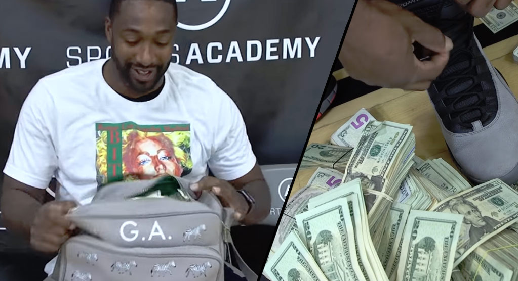 Gilbert Arenas Puts Up $100,000 For Shootout With Nick Young, Hits 95 Out Of 100 Shots