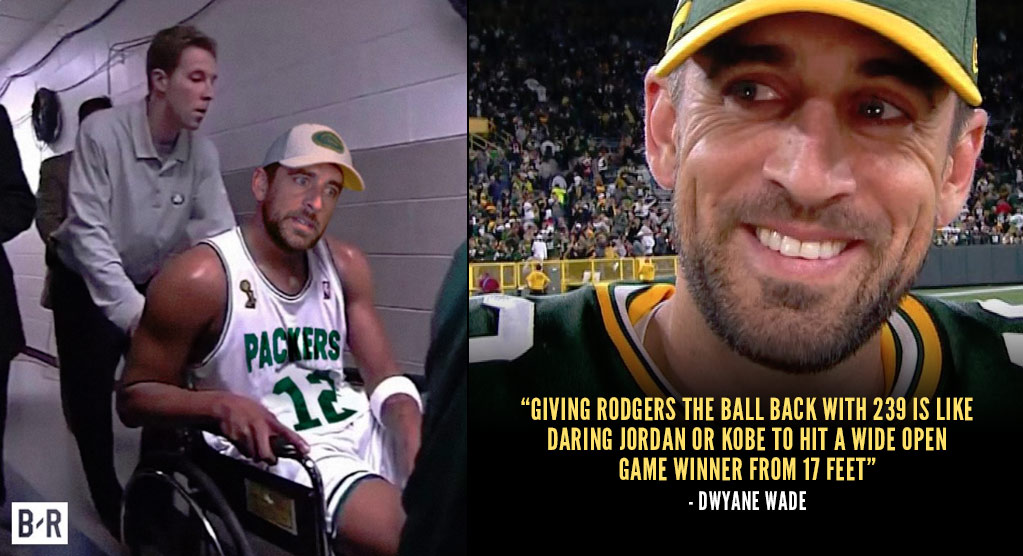 "NBA Players React To Aaron Rodgers' Version Of ""The Paul Pierce Wheelchair Game"""