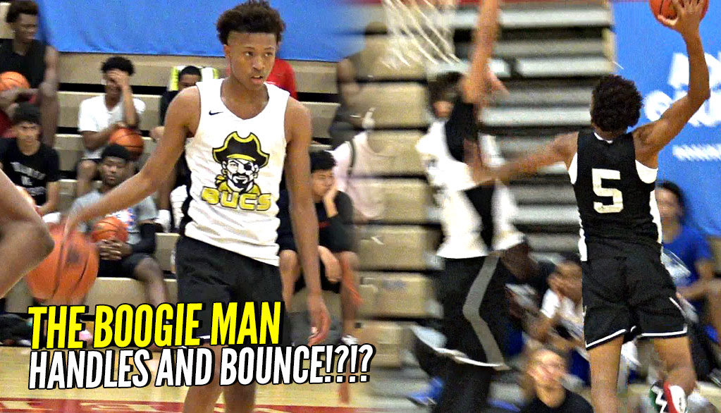 Boogie Ellis Will BREAK Your Ankles AND DUNK ON YOU!!