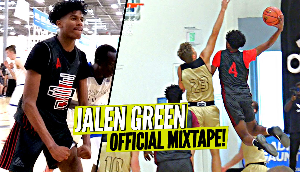 Jalen Green OFFICIAL MIXTAPE!! The BEST PLAYER in 2020 Class!! INSANE HIGHLIGHTS!
