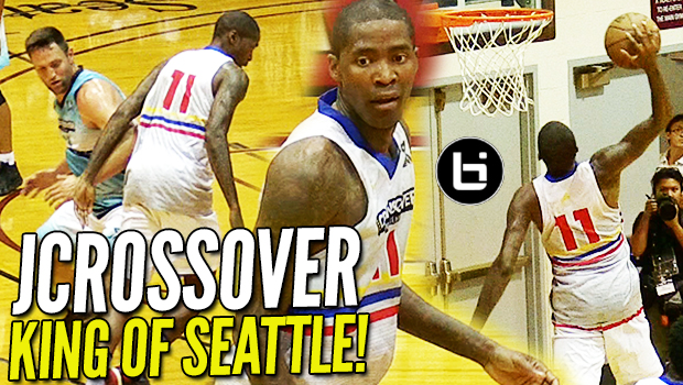 38 Year Old JAMAL CRAWFORD STILL UNGUARDABLE! DOMINATES Crawsover Pro Am! Where Will He Sign!?