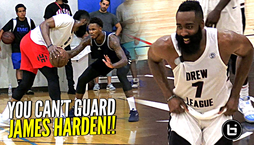 YOU CAN'T GUARD JAMES HARDEN!!! The Most LETHAL Lefty EVER!?