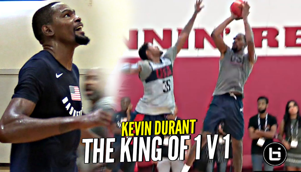 Kevin Durant Is THE KING OF 1 V 1!!! GOOD LUCK Trying To Guard Him!!!