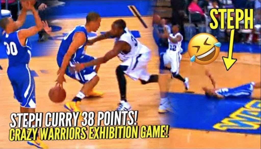 Steph Curry Hits CRAZY 3, Celebrates TOO EARLY & Pays The Price! ?? Warriors Crazy Exhibition Game!