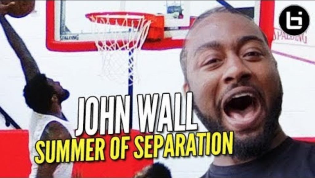 John Wall CUT in High School?! KING of the City's Raleigh Return! Summer of Separation /// Ep 5