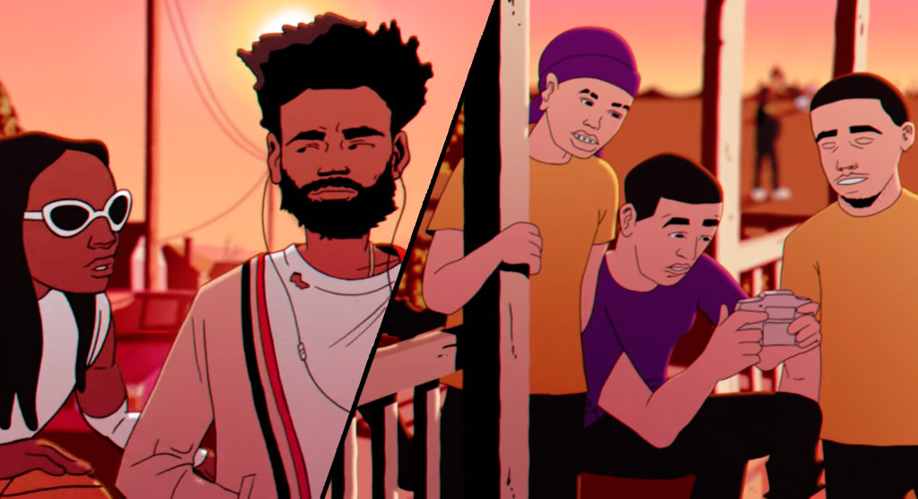 Ball Bros & Who's Who In Childish Gambino's 'Feels Like Summer' Video