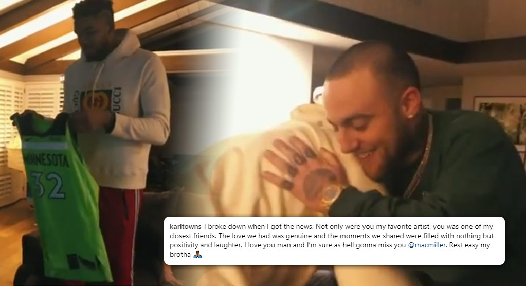 NBA Reacts To Mac Miller's Death