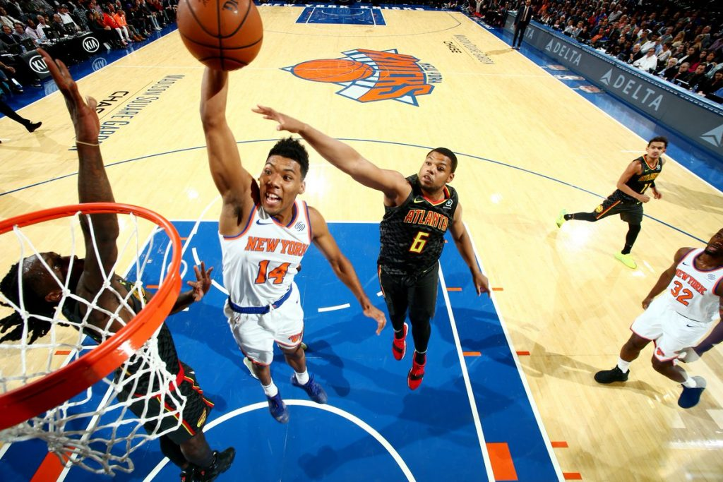 Undrafted Knicks Rookie Allonzo Trier Shines In NBA Debut