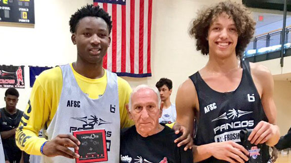 Micawber Etienne BREAKS OUT At Pangos East, COPPS co-MOP w/Jonathan Kuminga