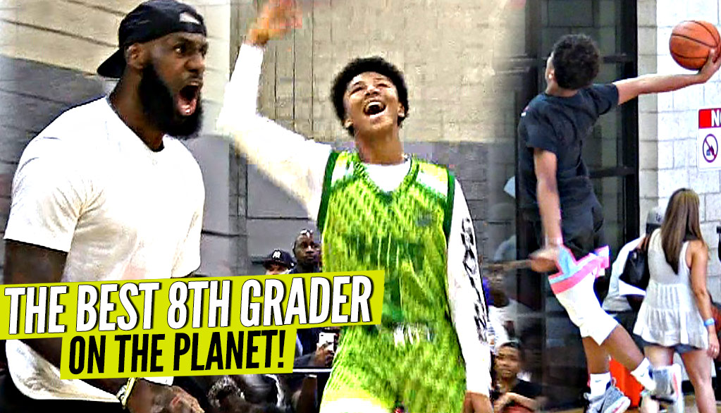 The 8th Grader Who Impressed LeBron!! Mikey Williams Will GIVE YOUR WHOLE SQUAD BUCKETS!