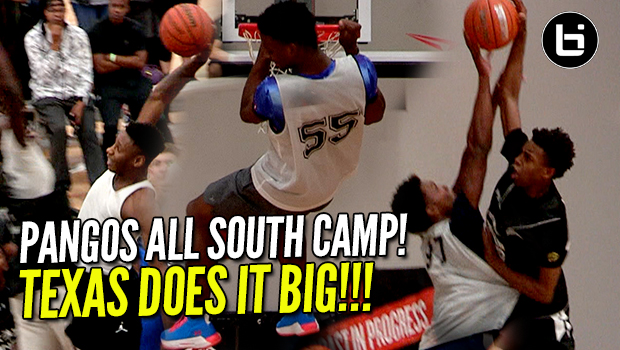Texas Does it BIG at Pangos All-South! BIG Dunks & Blocks!
