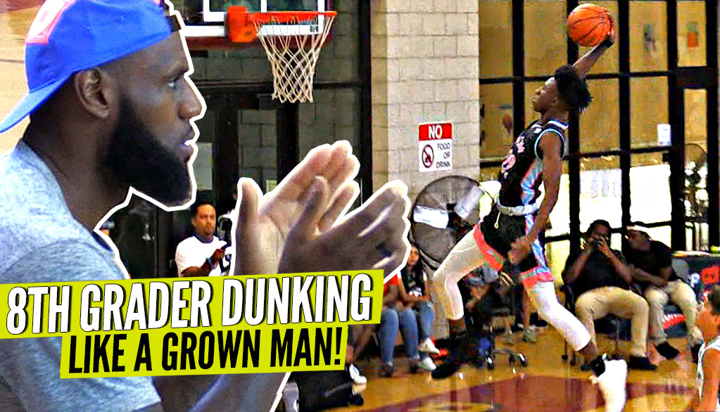 Texas Does it BIG at Pangos All-South! BIG Dunks &...