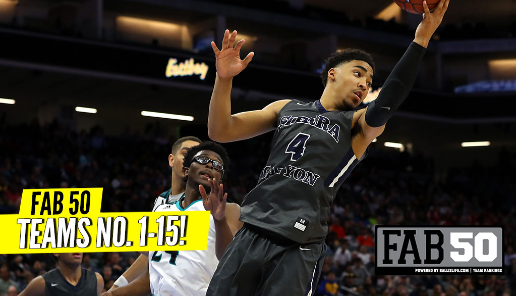 Preseason 2018-19 FAB 50: Top 15 Teams!