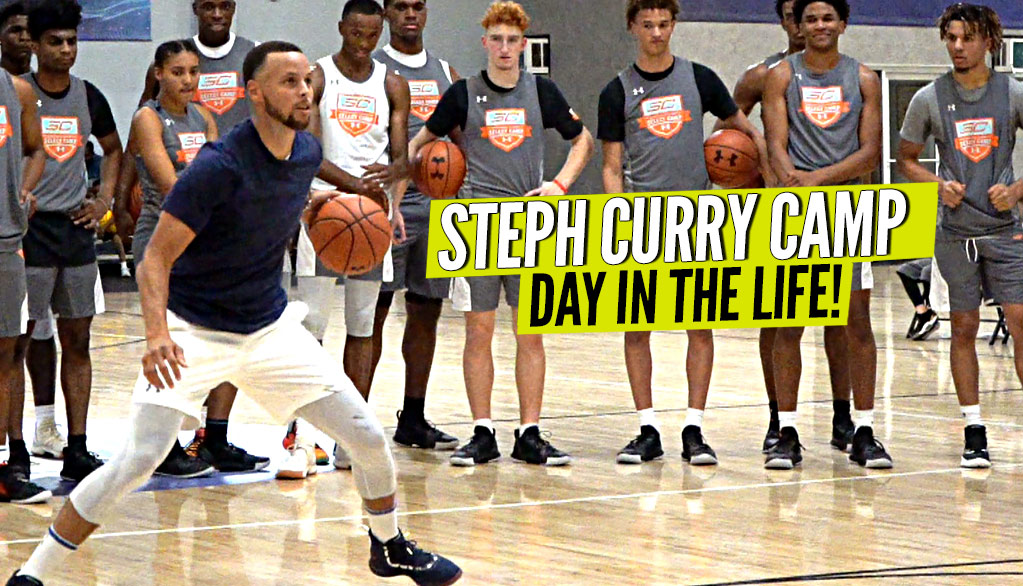 Steph Curry Camp: Day In The Life!! Steph Teaches The Next Generation!