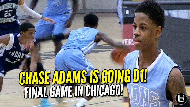 Chase Adams Commits to Towson! Prep School Highlights! 25 Points! 15 Assists!