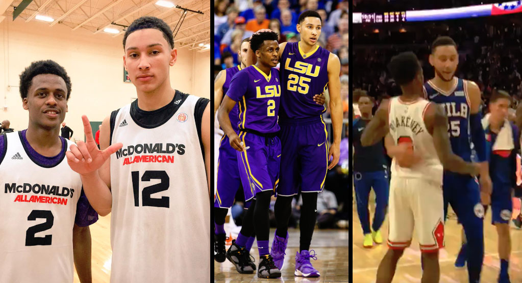Remember The Killer B's: Ben Simmons & Antonio Blakeney