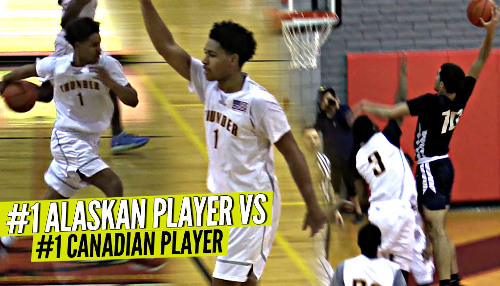 The #1 Point Guard from Alaska Daishan Nix vs #1 Canadian Player Addison Patterson!  Double OT Thriller!!