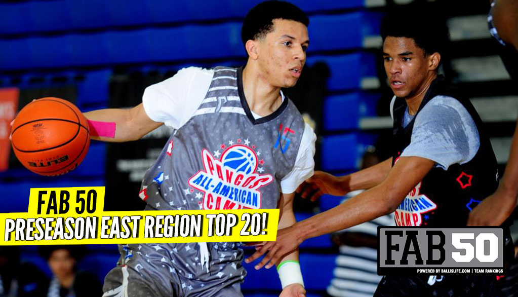Preseason 2018-19 EAST Region Top 20 Rankings!