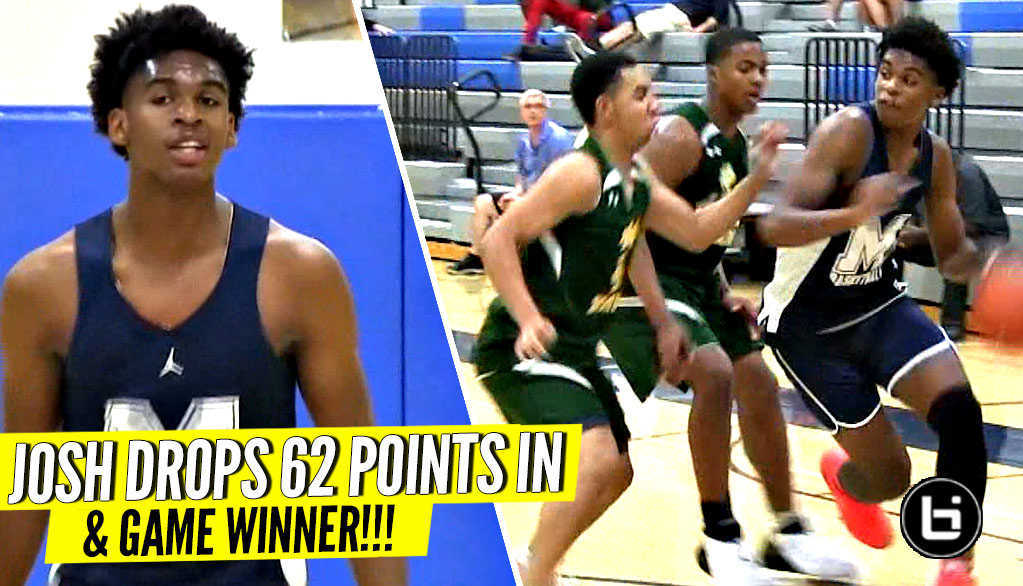 They Tried to Double Team Josh Christopher w/ NO LUCK! 62 Points In 2 Games & Game Winner!