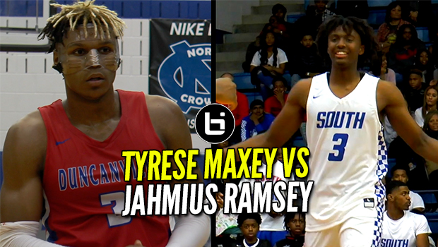 TYRESE MAXEY VS JAHMIUS RAMSEY!! This Game Was Real!