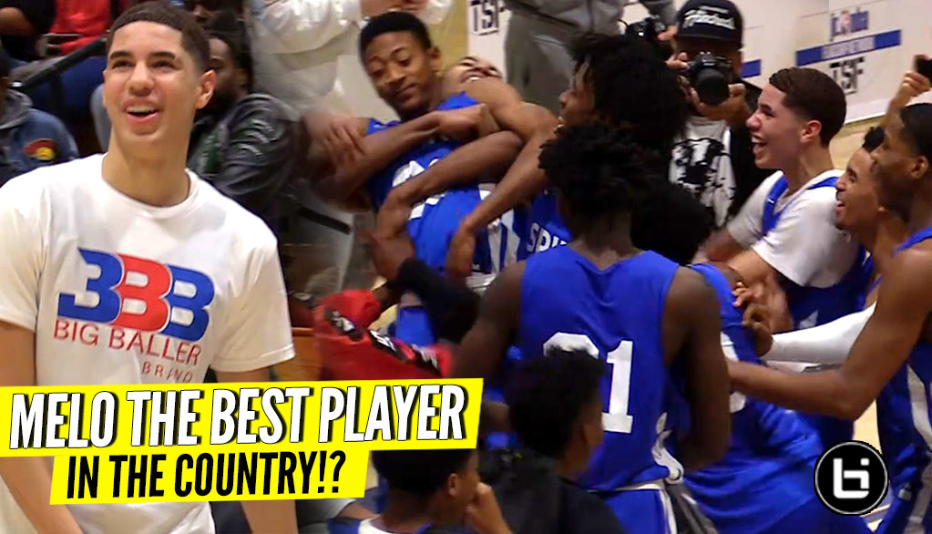 LaMelo Ball & Spire DAMN NEAR CAUSED A RIOT!! Melo SNAPS for 30 & DUNKS!!!