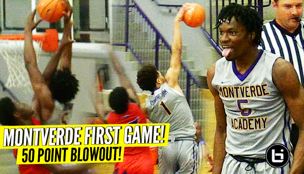 NATIONS' LONGEST WINNING STREAK CONTINUES! MONTVERDE w/ 50 POINT BLOWOUT in Home Opener!!!