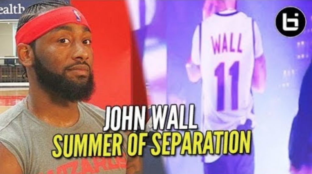 "Drake REPS John Wall HIGH SCHOOL Jersey?! Summer of Separation ""The FINALE"" /// Ep 8"