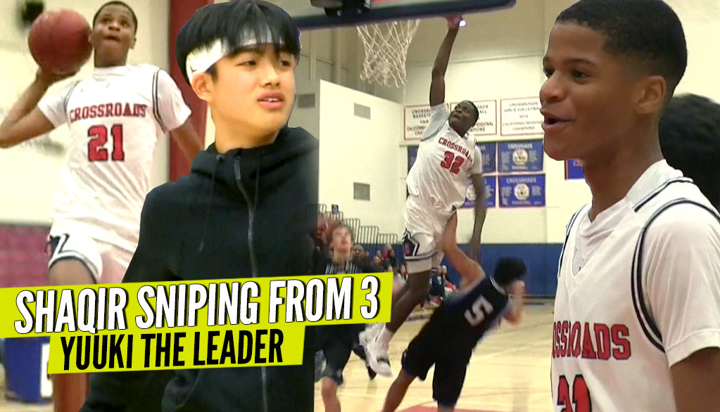 Shaqir O'Neal SNIPING From 3! Yuuki Okubo Plays With HEART! Crossroads vs Palisides!