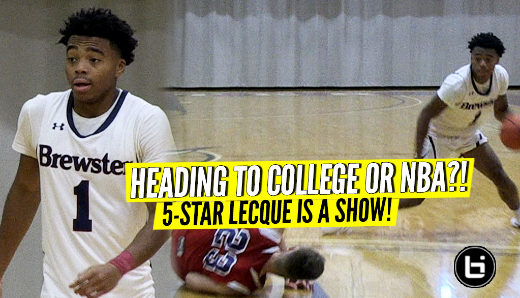 Jalen Lecque Guides Brewster to Hot Start in Home Opener! Full Highlights