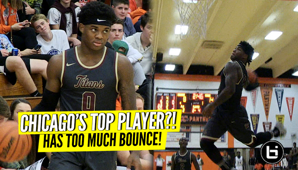 Chicago's Toughest Guard Has TOO MUCH BOUNCE! Markese Jacobs 41 Points, WINDMILL SHOW!