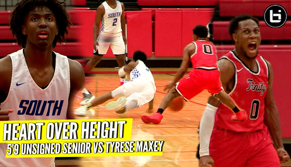 HEART OVER HEIGHT! 5'9″ Unsigned Senior VS Tyrese Maxey Kentucky Next PG