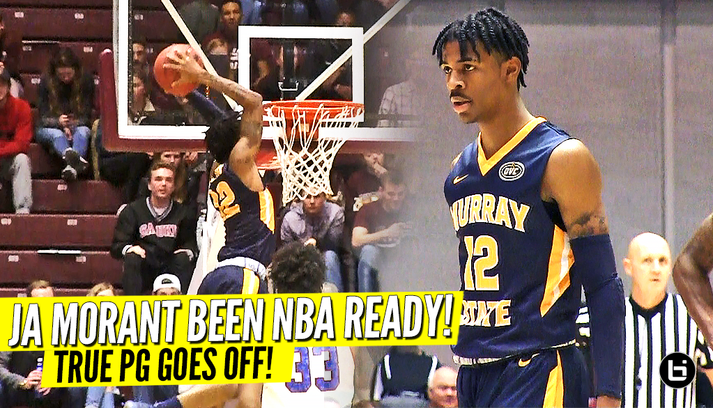 The Future Mid-Major LOTTERY PICK You Never Heard Of! Ja Morant Game Highlights!