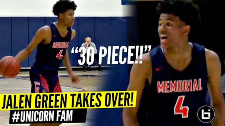 Jalen Green TAKES OVER In 2nd Half & Drops 30 Points!!! #UnicornFam