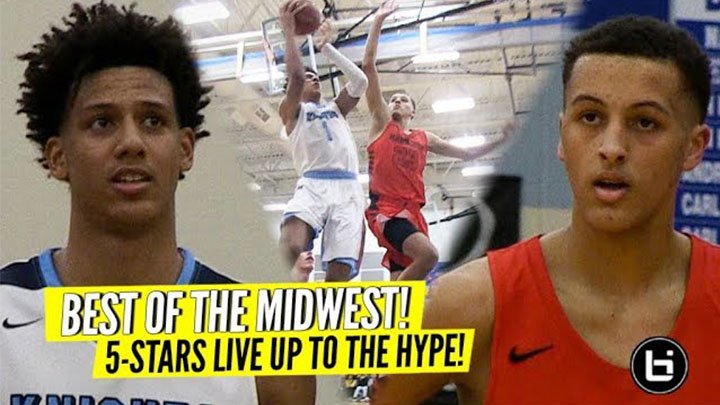 Midwest GAME OF THE YEAR?! Jalen Johnson versus Patrick Baldwin Jr Lives Up to THE HYPE! Highlights!
