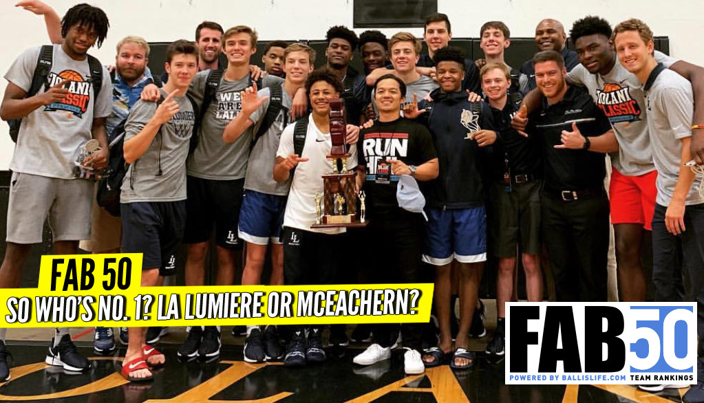 NEW FAB 50: There is a NEW No. 1 For NEW Year's!