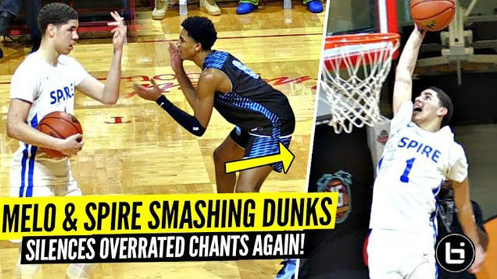"LaMelo Ball CRAZY Dunks & TOYING w/ Defenders After Crowd Chants ""OVERRATED""!!"