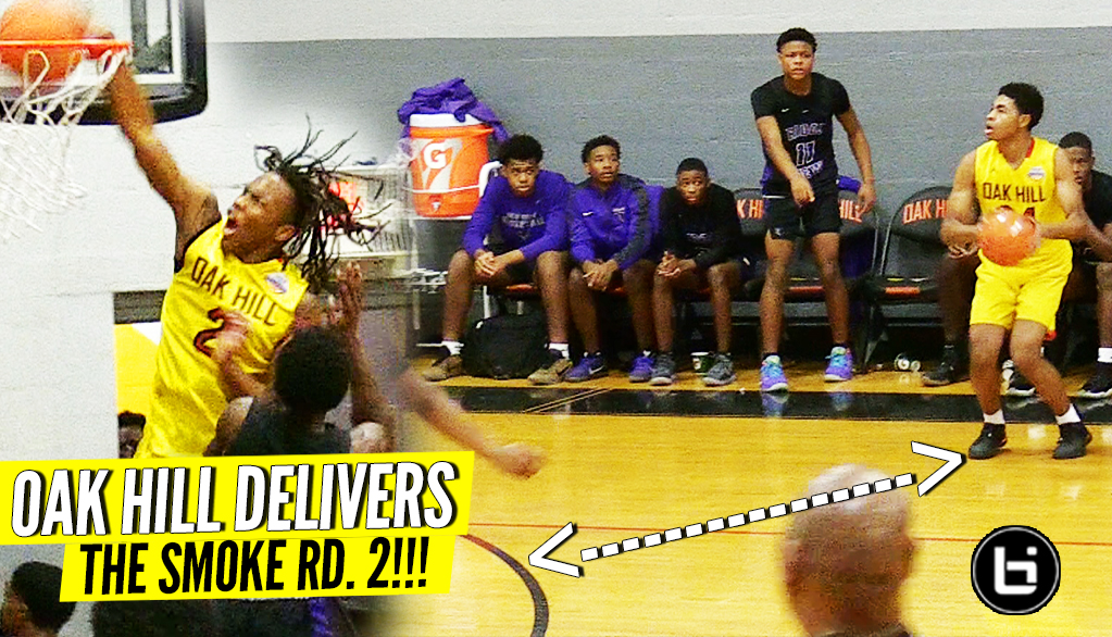 Oak Hill DELIVERS THAT SMOKE RD. 2!!! Christian Brown FEELING BOUNCY!!
