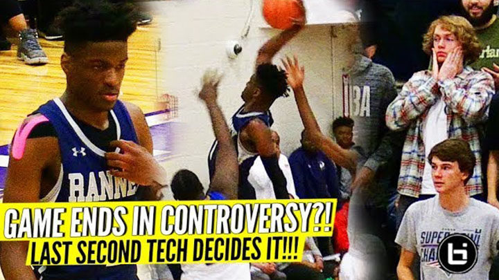 GAME ENDS IN CONTROVERSY?! Bryan Antoine & Scottie Lewis LEAD EPIC COMEBACK