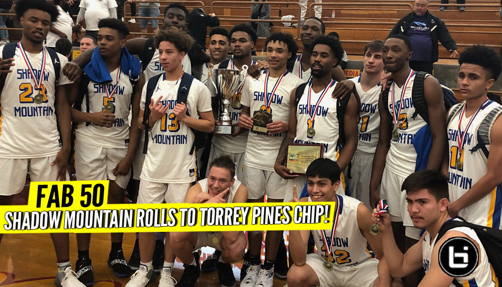 No. 29 Shadow Mountain Rolls in Torrey Pines Final! FULL HLs!