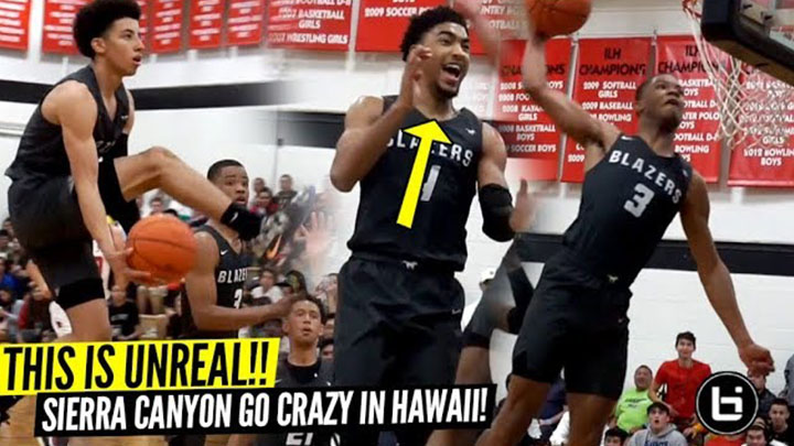 Scotty Pippen Jr & Cassius Stanley BREAK THE INTERNET!! Sierra Canyon SHUTS DOWN HAWAII!!
