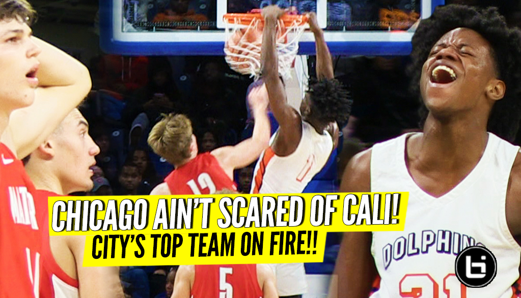 Chicago's Top Team Versus Cali! DJ Steward on Fire! Whitney Young vs Mater Dei Highlights!