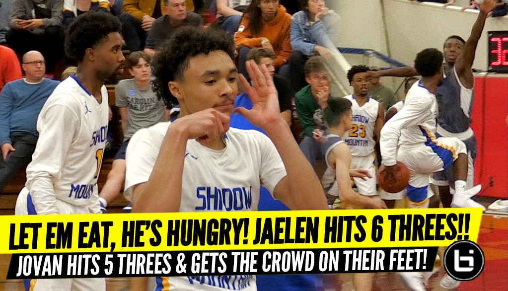 60 POINTS!? Jaelen House Goes STEPH CURRY MODE & Jovan Blacksher Klay Thompson On EM!!!!