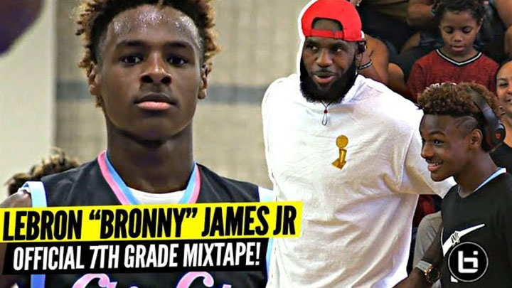 "Bronny James Jr OFFICIAL Mixtape Vol. 1!!! ""KING'S BLOOD"""