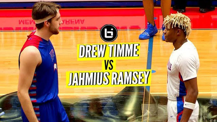NIKE Teammates FACE OFF in High School! Drew Timme VS Jahmius Ramsey