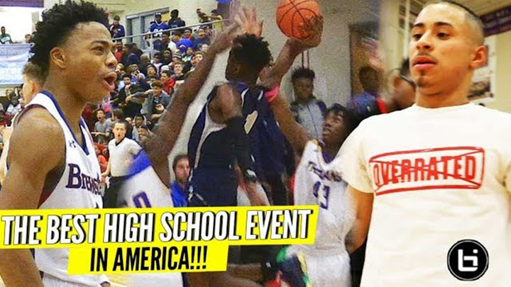 Jalen Lecque, Julian Newman, SOLD OUT Crowds at BEST Event of 2018: John Wall Holiday Invitational!!